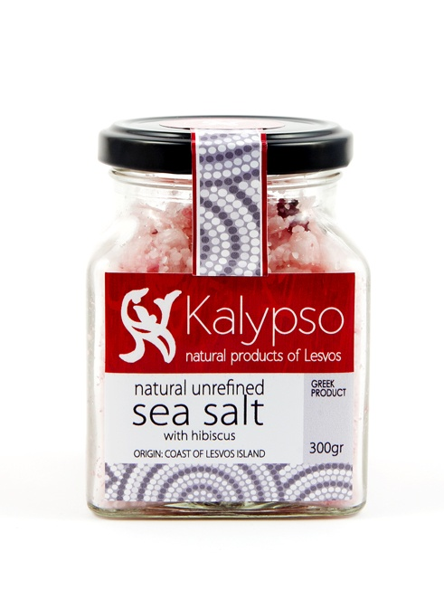 Natural unrefined sea salt from the salt marshes of Kalloni 200gr