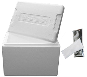 Coldbox/Isothermal bag for Perishable Foods.