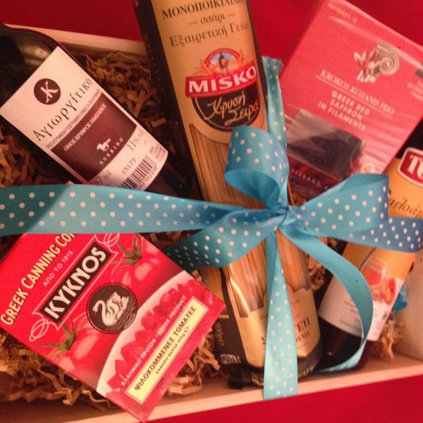 Authentic Flavors of Greece Gift Basket