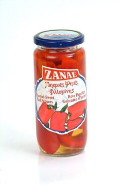 Zanae Roasted Sweet red peppers 450gr