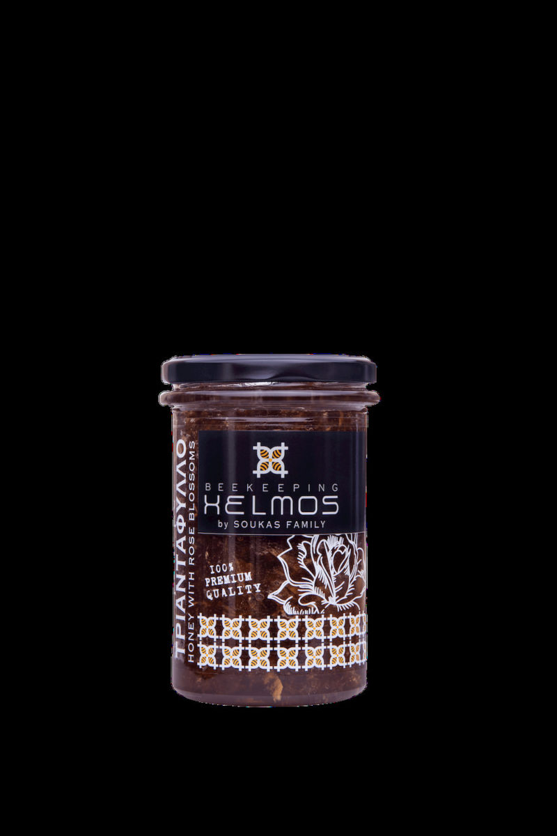 Honey with Rose Blossoms 380gr (Limited Productions)