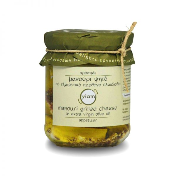 Exquisite manouri cheese of Thessaly, in extra virgin olive oil 200gr